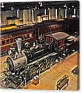 Strasburg Railroad Museum Canvas Print