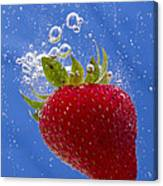 Strawberry Soda Dunk 3 Canvas Print