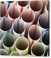 Straws 2 Canvas Print
