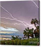 Streak Lightning Canvas Print