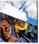 Street Art Canvas Print