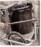 Street Cleaning Kit Canvas Print