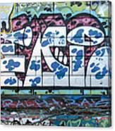Street Graffiti - Tubs II Canvas Print