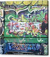 Street Graffiti - Tubs IIi Canvas Print