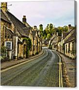 Street In Castle Combe Canvas Print