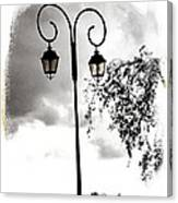 Street Lamps Canvas Print