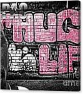 Street Phenomenon 2pac Canvas Print