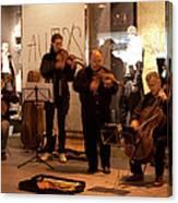 Street String Quartet Canvas Print