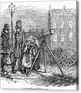 Street Telescope Canvas Print