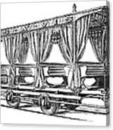 Streetcar, C1880 Canvas Print