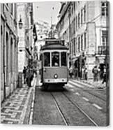 Streetcar Estrela Canvas Print