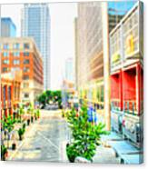 Street's Of Louisville Canvas Print