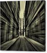 Streets Of Madness Canvas Print