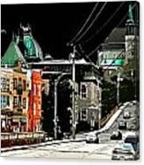 Streetside Canvas Print