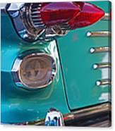 Striking Tail Lights Canvas Print