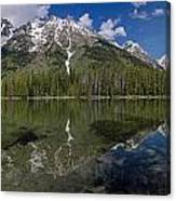 String Lake Panorama Canvas Print