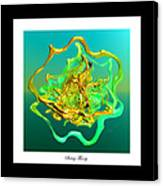 String Theory D Canvas Print