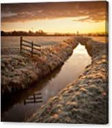 Stubby Fence Canvas Print