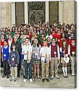 Students Catholic Schools 2007 Canvas Print