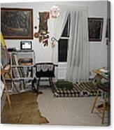 Studio - Art Work Space Canvas Print