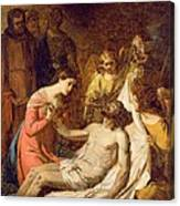 Study Of The Lamentation On The Dead Christ Canvas Print