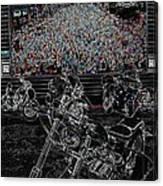 Stugis Motorcycle Rally Canvas Print
