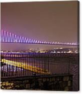 Stunning Istanbul Bridge Canvas Print