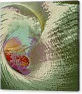 Stylized Calla Lily Canvas Print