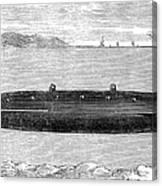 Submarine, 1852 Canvas Print