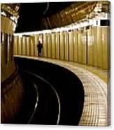 Subway Curve Canvas Print