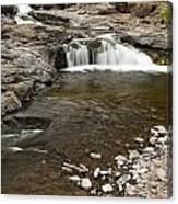 Sucker River Falls 2 E Canvas Print