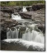 Sucker River Falls 2 G Canvas Print
