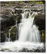 Sucker River Falls 2 J Canvas Print