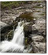 Sucker River Falls 2 N Canvas Print