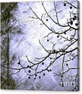 Sudden Snowstorm Canvas Print