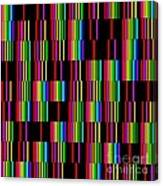 Sudoku Regular Vertical Lines Canvas Print
