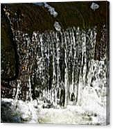 Suds Falls Canvas Print