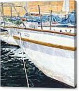 Su'entu E Nora Riflessi Canvas Print