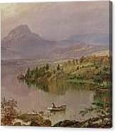 Sugarloaf From Wickham Lake Canvas Print