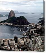 Sugarloaf Mountain Brasil Canvas Print