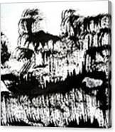 Sumi-e 120726-1 Canvas Print