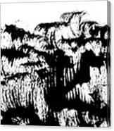 Sumi-e 120726-4 Canvas Print