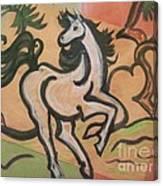 Sumihorse3 Canvas Print