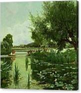 Summer - One Of A Set Of The Four Seasons Canvas Print