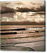 Summer Afternoon At The Beach Canvas Print