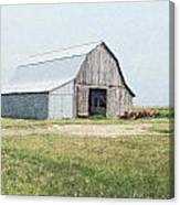 Summer Barn Canvas Print