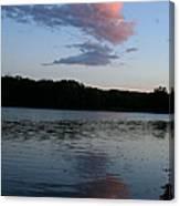 Summer Cloud Reflections Canvas Print
