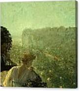 Summer Evening In Paris Canvas Print