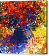 Summer Flowers Canvas Print