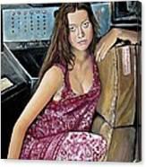 Summer Glau - River Tam Canvas Print